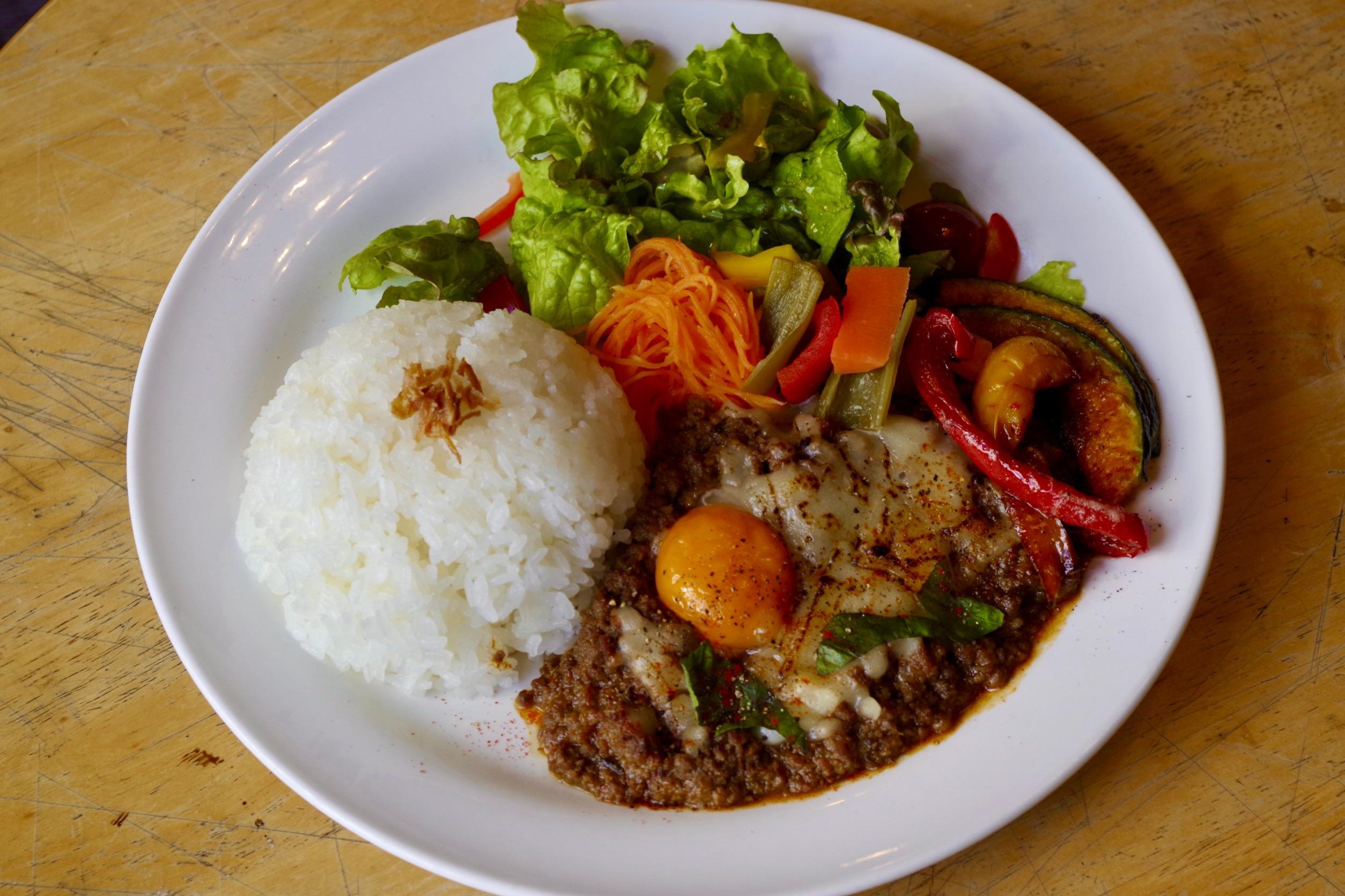 タイ風キーマカレー